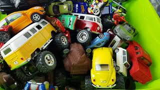 Download Box full of cars welly kinsmart and more cars Video