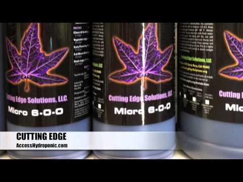 Cutting Edge Bloom, Grow, Micro by AccessHydroponic.com