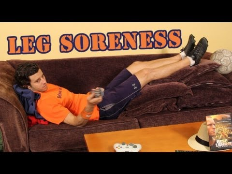 SOCCER TIP ~ How to Get Rid of Leg Soreness - Online Soccer Academy