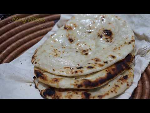 How to make Cheese Naan on Tawa | Homemade Tandoori Cheese Naan without Tandoor