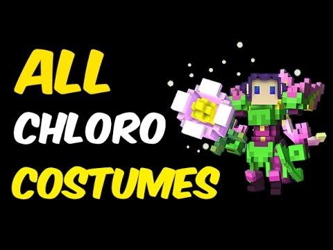 All Chloromancer Costumes in Trove