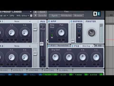 Future Bass Synth Massive Tutorial