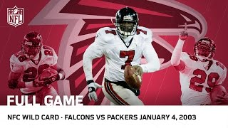 Michael Vick S Historic Upset Falcons Vs Packers 2002 Nfc Wild Card P