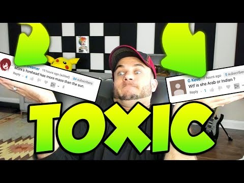Reacting to Toxic Comments...