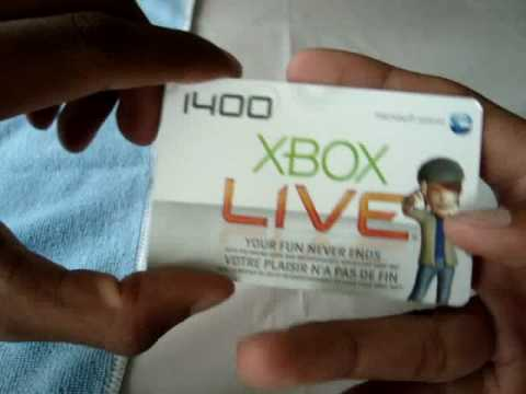 Free Xbox Live prepaid card giveaway