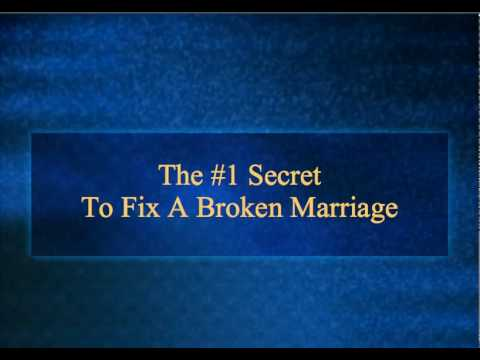 Revealed: #1 Secret To Fix A Broken Marriage