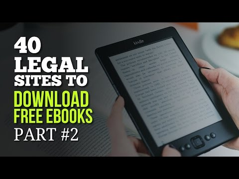 40 Legal Sites to Download Free Ebooks - Part #2