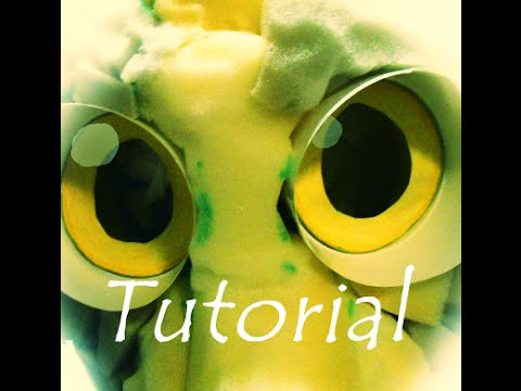Fursuit follow me eye tutorial (cheap way )