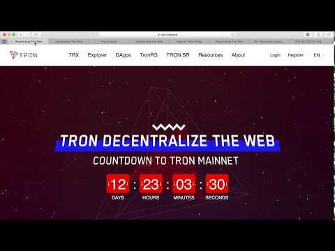 Tron $Trx set to Moon | Tron Explorer