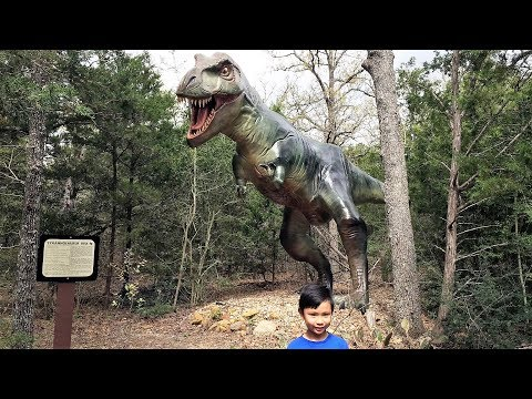 Dinosaur Park Texas Tour & Dinosaur Identification (HD)