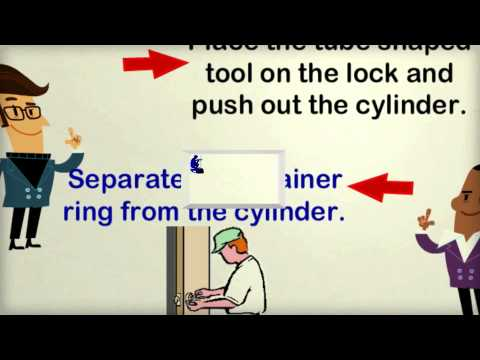 How to Rekey a Lock on Your Own?