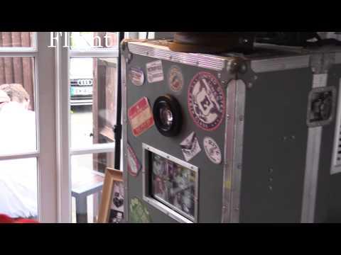 The international flight case photo kiosk