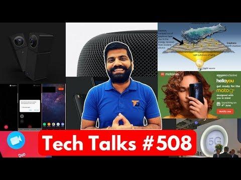 Tech Talks #508 - Xiaomi IP Camera, Moto G6 India, Cancer Treatment, Google Duo, Qualcomm 5G