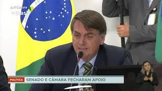 Bolsonaro participa de reunião e diz que vai sancionar projeto de ajuda a estados e municípios