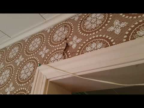 Vinegar Removing Old Wallpaper