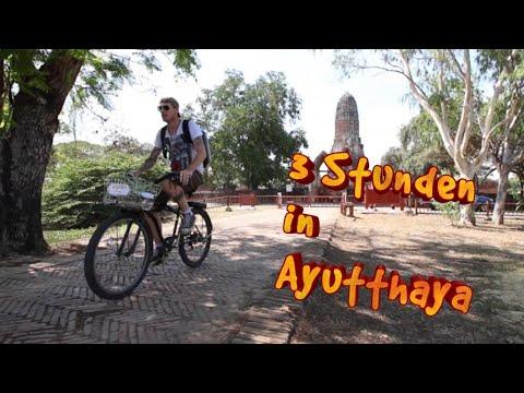 3 Stunden in Ayutthaya | Backpacking Vlog