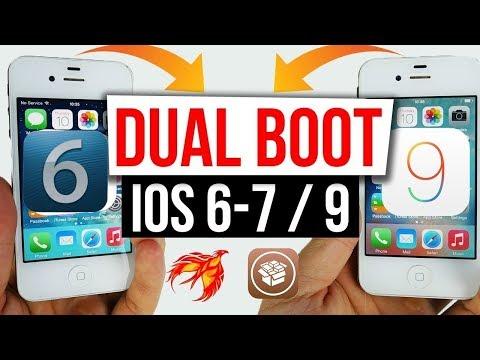 Tutoriel de Downgrade DUAL BOOT iOS 9 vers iOS 6/7 ! (32 Bit)