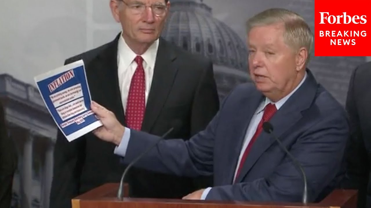 JUST IN: GOP Senators Assail Biden For Spending, Inflation