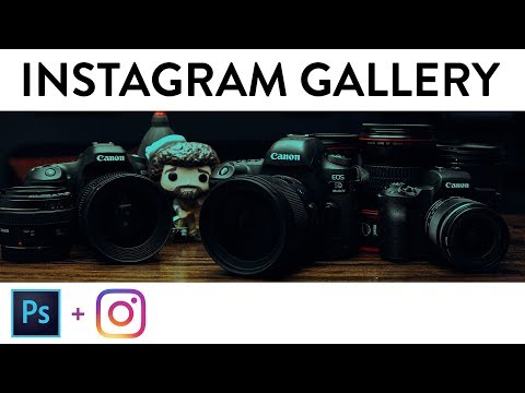 How to make a PERFECT Instagram Gallery (One-Image Panoramic Photos!)