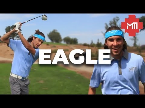 Golf Course Vlog - First Eagle in 3 Years!!! Gabe and Blaire Pt 1