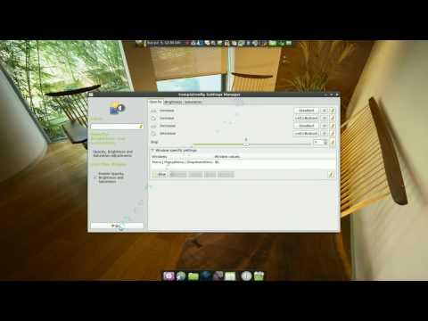 Transparent Menu & Titlebar - Linux Mint 7