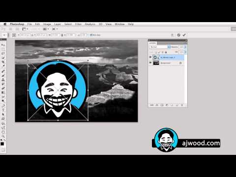 Photoshop Creating a Graphic Watermark for Use in Lightroom