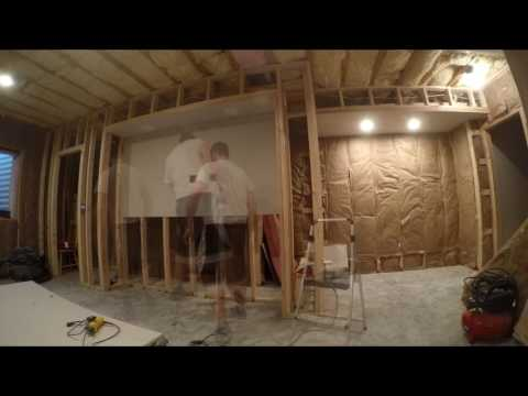 6. Finishing Basement - Drywall Installation