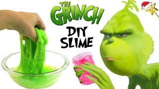 THE NEW GRINCH MOVIE DIY SLIME GAME w/ Cindy Lou Who, Max & Surprise Toys
