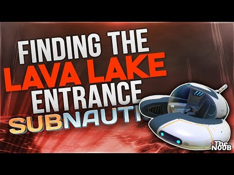 Subnautica: Looking for the Lava Biome Entrance! S01 E29 | TheNoob Official