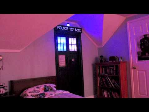 The TARDIS in the Bedroom