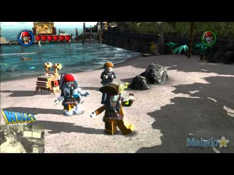 LEGO Pirates of the Caribbean Complete Free Play Walkthrough - Secret Dancing Jack