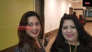 Jannat Zubair Rahmani,Avneet Kaur,Siddharth Nigam ,Abhishek At Screening of Abhiskek Panipat Movie