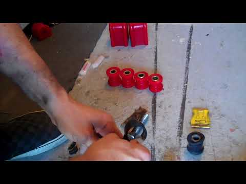Grand Cherokee Front Sway Bar End Link Bushing Install