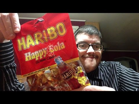 Review: HARIBO Happy Cola Gummi Candy