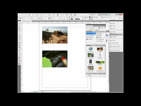 Simple shortcut to replace an image in InDesign