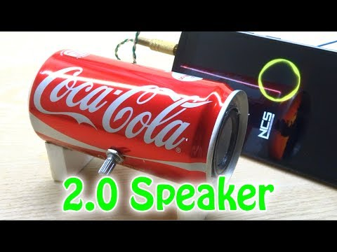 How to Make a 2.0 Speaker Very Simple with Sound Amplification