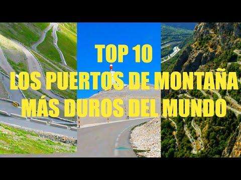 TOP 10 Puertos de montaña más duros del mundo (ciclismo)