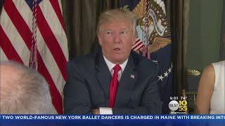Trump Issues Warning to Kim Jong Un