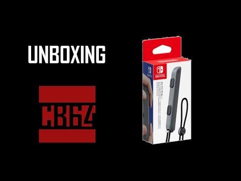 Nintendo Switch Joy-Con Strap Unboxing