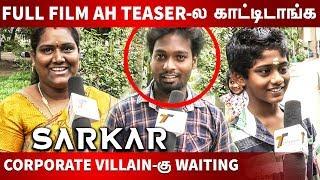 Sarkar Official Teaser : Public Reaction | Thalapathy Vijay | A.R Murugadoss | A.R. Rahman