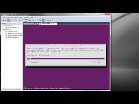 Installing Ubuntu Server 11.04