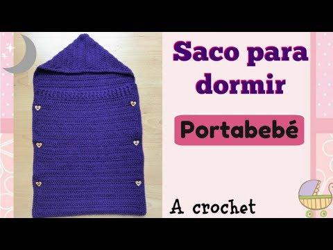 Saco para dormir, portabebé Crochet/ Sleeping bag, baby carrier Croche