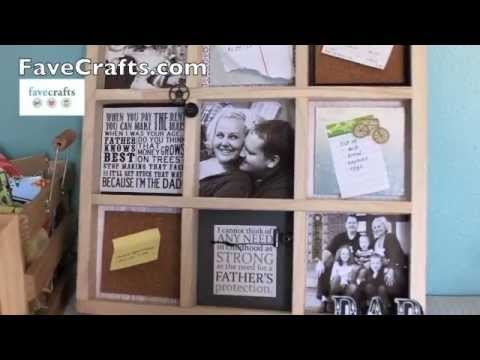 How To Make A Photo Memo Board