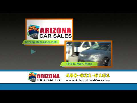15 Second TV Ad A-  Arizona Car Sales in Mesa Arizona!