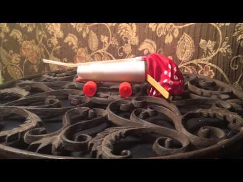 The Batmobile Balloon Car