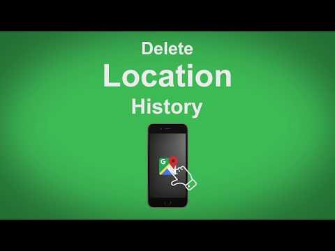Google Maps   Delete Location History