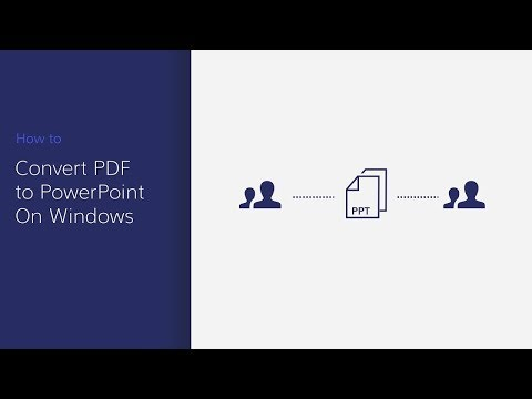 Convert PDF to PowerPoint on Windows with PDFelement