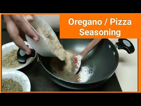 Oregano Seasoning Recipe | How to Make Pizza Seasoning ?