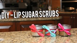 DIY | Lip Sugar Scrubs