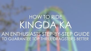 How to ride Kingda Ka at Six Flags Great Adventure